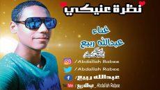 اغنية نظرة عينيكي غناء وتوزيع عبدالله ربيع كلمات والحان عبدالله ربيع MP3 2020 – طرب ميكس