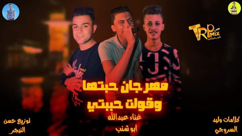 مهرجان حبتها وقولت حبيتي غناء عبدالله ابوشنب - كلمات وليد السروجي - توزيع حسن النيجر 2020